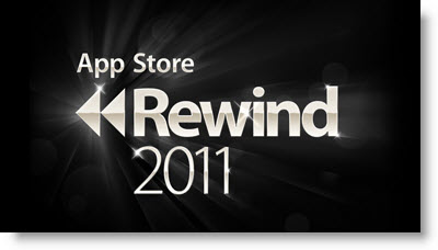 Mest downloadede iPhone- og iPad-apps 2011 - Rewind App Store