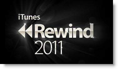 Mest downloadede musik i iTunes 2011 - Rewind