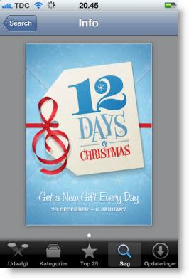 12 overraskelser i julegave fra iTunes