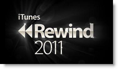 Mest downloadede musik i iTunes 2011 - Rewind